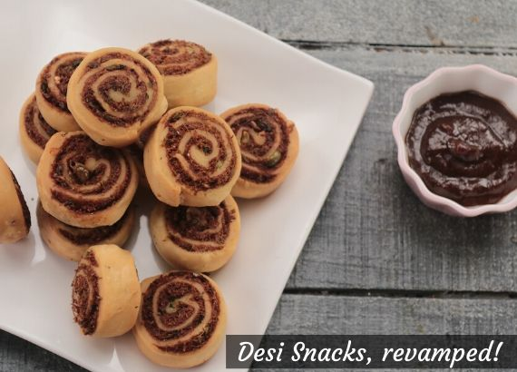 5 desi vegetarian snacks revamped