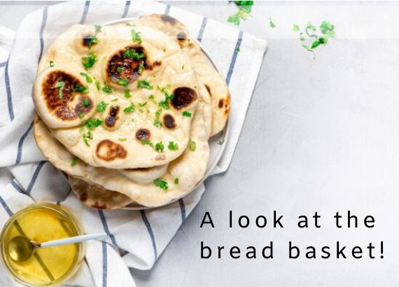 A look at the bread basket