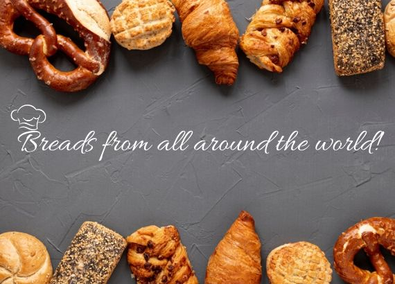 Breads from all around the world