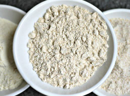 Can wheat flour be substituted for refined flour