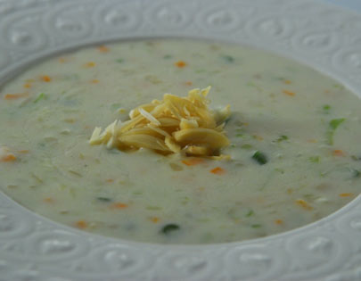 Almond And Vegetable Soup