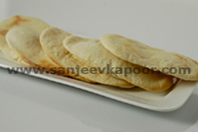 Baked Bhature