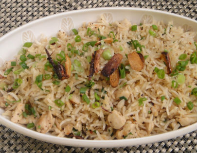 Burnt Garlic Rice