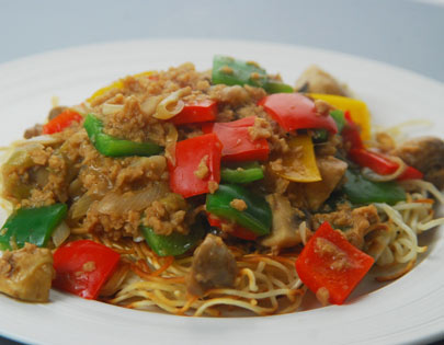 Canton Style Vegetarian Chowmein