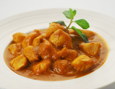 Caramelised Pumpkin Chicken Curry