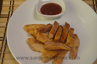 Chatpate Kand Fritters