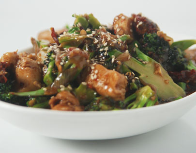 Chicken Chilli And Broccoli Stir-Fry
