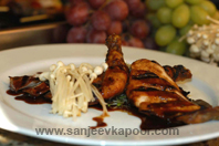 Chicken Teriyaki With Black Grapes