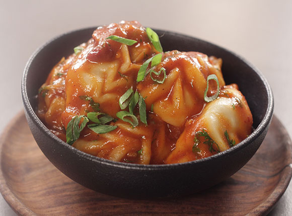 Chilli Garlic Momos