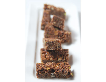Chocolate And Cereal Granola Bar