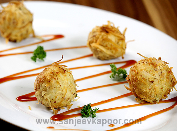 Coconut Crusted Potato Balls