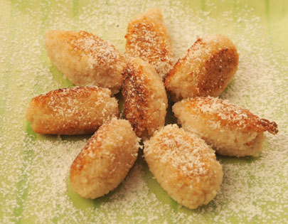 Coconut Rice Fritters