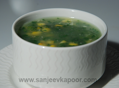 Corn And Jade Soup