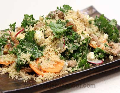 Couscous Salad with Goat Cheese