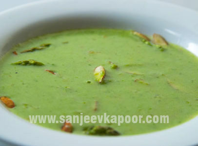 Cream Of Asparagus And Almond Soup
