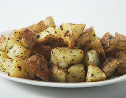Cubed Roast Potatoes