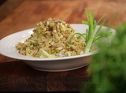 Cucumber and Moong Salad
