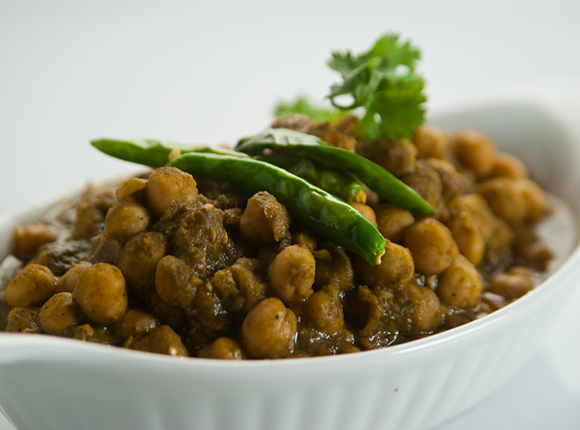 Dhaniya Chole Masala - Cook Smart