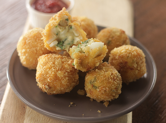 Egg and Cheese Poppers - SK Khazana