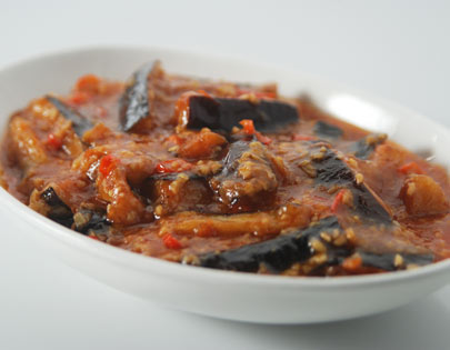 Eggplant Chilli Garlic