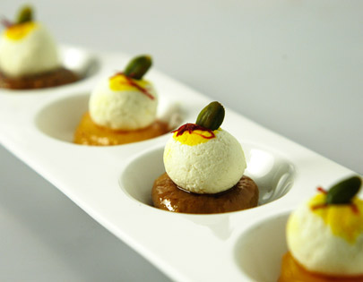 Fig And Apricot Sandesh