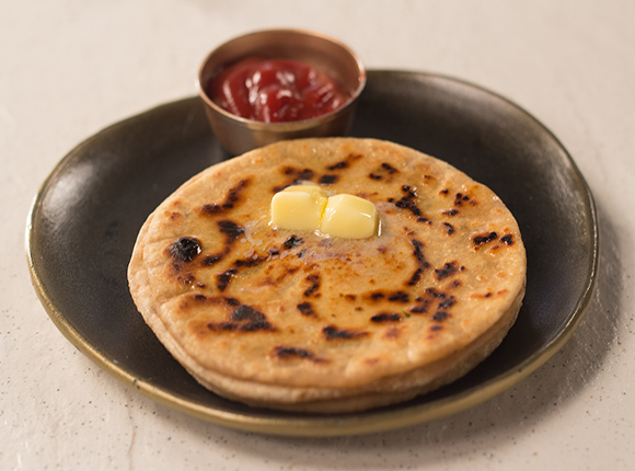 Garlic Cheese Parantha