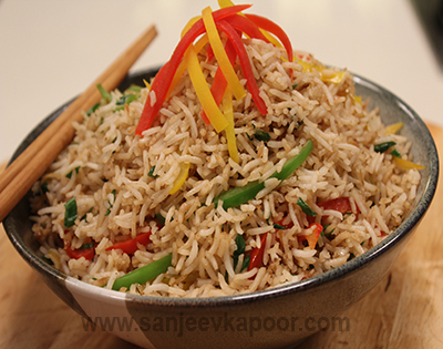 How to make ginger and pepper fried rice recipe by masterchef ginger and pepper fried rice ccuart Images