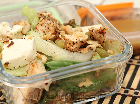 Grilled Chicken Pear Salad