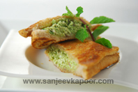 Grilled Tofu And Paneer Sandwich