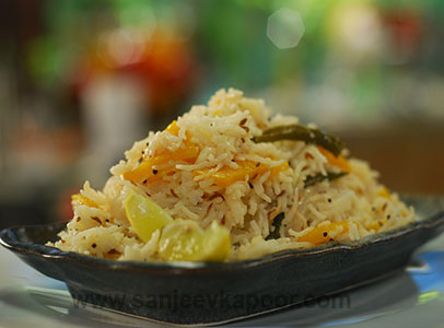Lemon and Pumpkin Rice