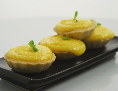Lemon Curd Tarts