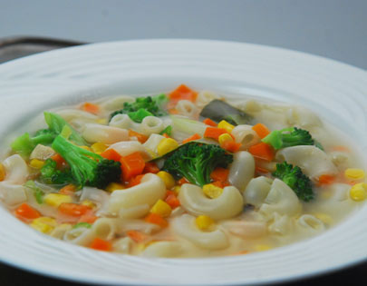 Lemon Pasta Soup