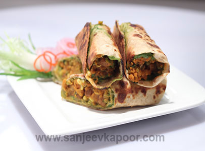 Mixed Bean Sprouts Wrap