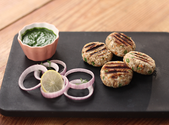 Mixed Vegetable Walnut Kebab - SK Khazana