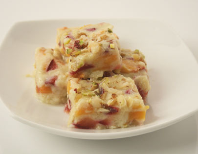 Mixed Fruit Burfi
