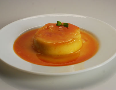 Orange Caramel Custard