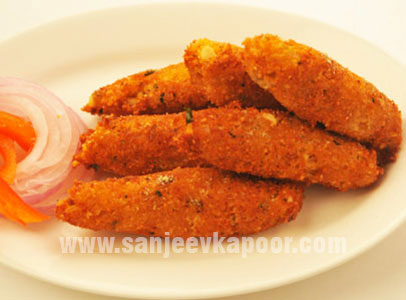 Paneer And Peanut Fingers