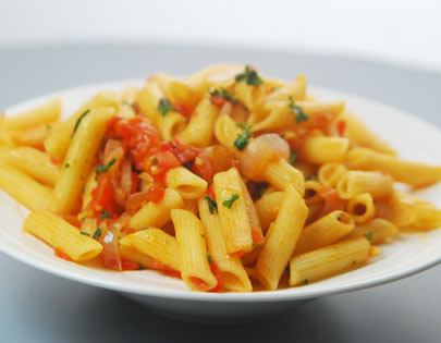 Pasta in Creole Sauce