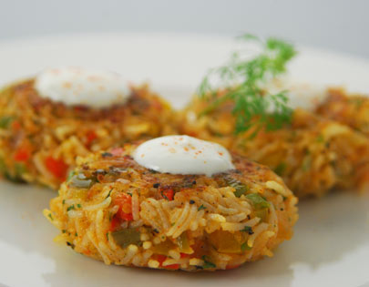 Pepper Potato Tikki