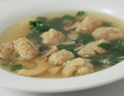 Prawn Ball Soup