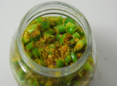 Quick Chilli Pickle