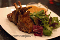 Rack Of Lamb With Apple Sauce