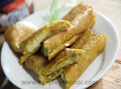 Rice and Moong Dal Pancakes