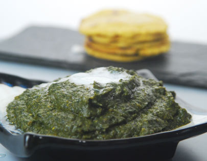 Sarson ka Saag with Gajar and Shalgam