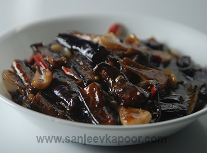 Sichuan Eggplant With Black Bean Sauce