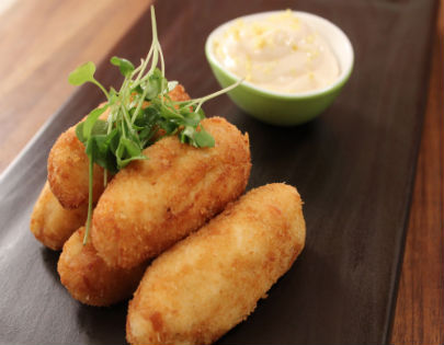 Spanish Chicken Croquetas