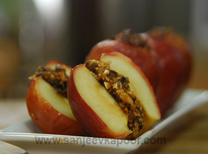 Spiced Stuffed Apples