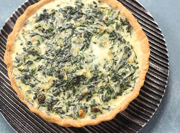 Spinach and Cheese Pie - SK Khazana