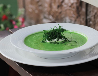 Spinach And Onion Soup