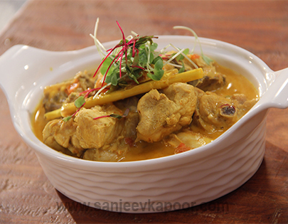 Sri Lankan Chicken Curry